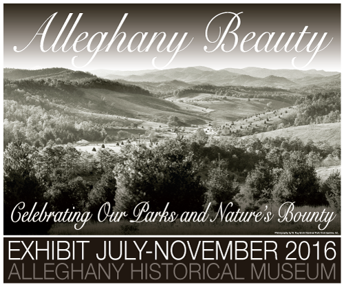 New Exhibit at Alleghany Historical Museum. Photography by W. Ray Scott National Park Concessions, Inc.